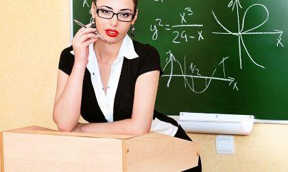 pierwszy seks z nauczycielką