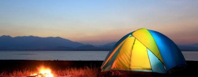 Letnie igraszki pod namiotem